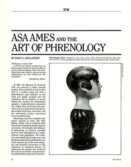 Asa Ames and the Art of Phrenology thumbnail