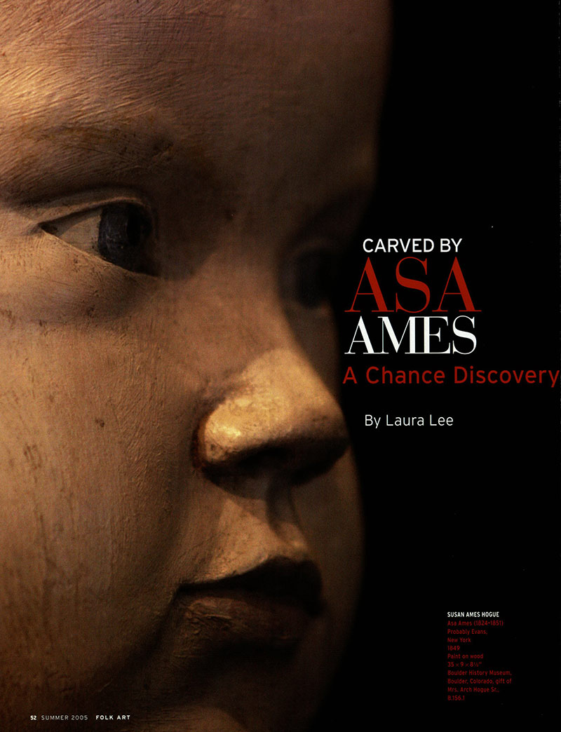 Carved by Asa Ames thumbnail