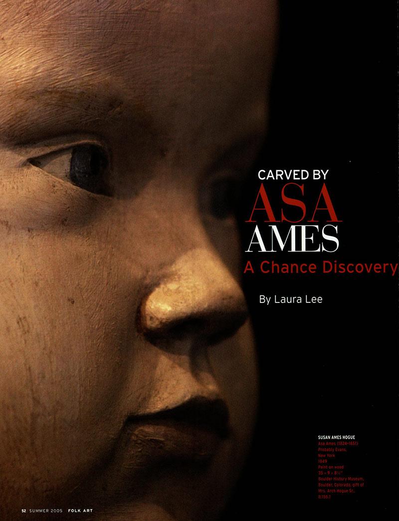 Carved by Asa Ames thumbnail