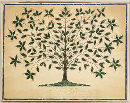 A Cutwork Tree of Life in the Manner of Hannah Cohoon thumbnail