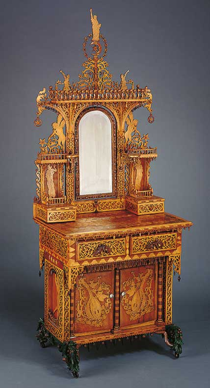 Gifts of Marquetry from the Hirschhorn Foundation to the Museum of American Folk Art thumbnail