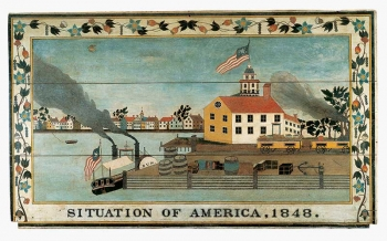 Situation of America, 1848. thumbnail