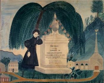 Mourning Piece for Sarah Elizabeth Burnham thumbnail