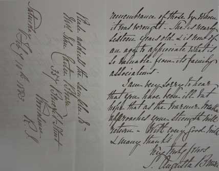 Carter-Jenckes Family Correspondence thumbnail